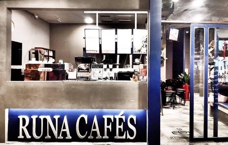 RUNA嚕娜咖啡:  商業空間 by X2 CREATE乘雙設計制造所