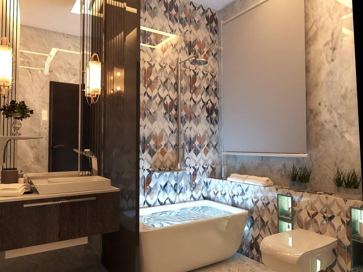 حمام تنفيذ Belal Samman Architects