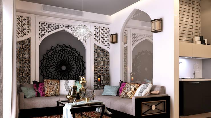 modern Living room by Belal Samman Architects