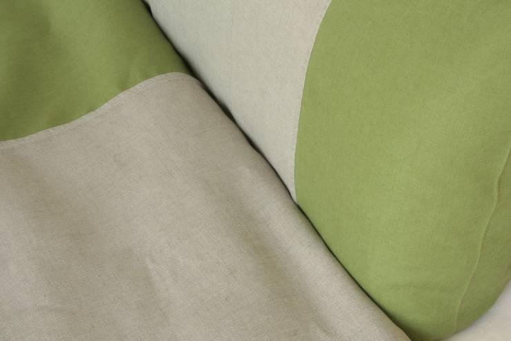 Schlafzimmer Apfelgrün | Leinen Wendebettwasche Apfelgrun Von Comfybedlinen Designer Leinen