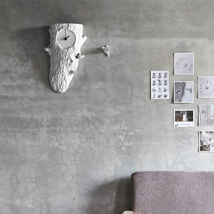 Haoshi Tree Cuckoo Clock:  Living room by Just For Clocks