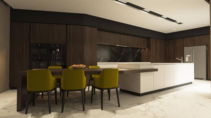 Kitchen by ICONIC DESIGN STUDIO