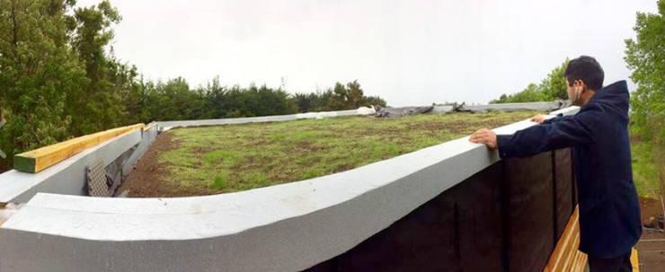 Techo Verde: Casas ecológicas de estilo  por Cordova Arquitectura y Construcción .