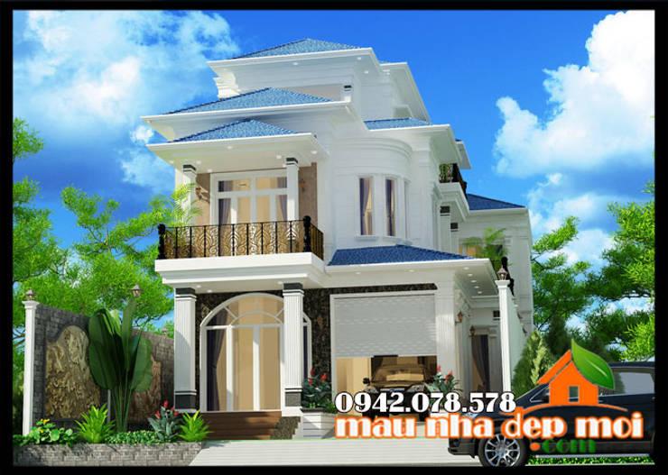 Kiến trúc phóng khoáng, sang trọng:  Biệt thự by Công ty TNHH TKXD Nhà Đẹp Mới