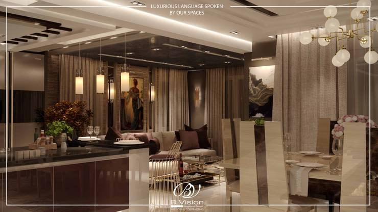 غرفة السفرة تنفيذ Bvision Interiors