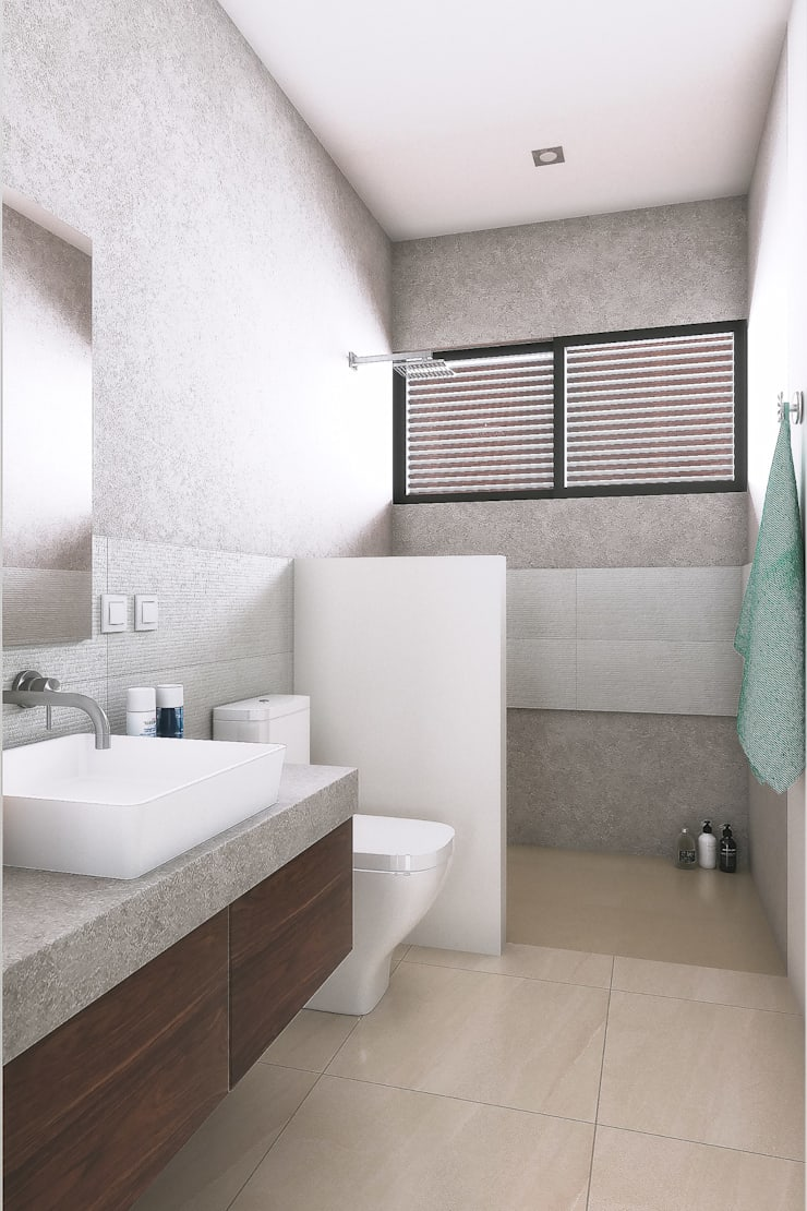 Bathroom by Taller Veinte