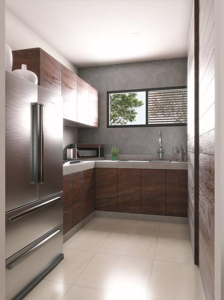 Kitchen units by Taller Veinte