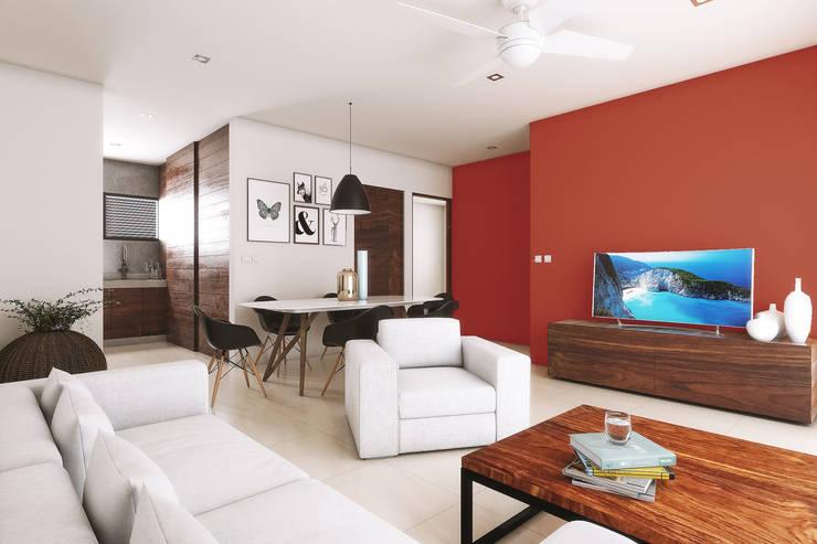 Living room by Taller Veinte