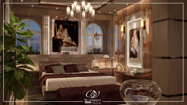 غرفة نوم تنفيذ Bvision Interiors