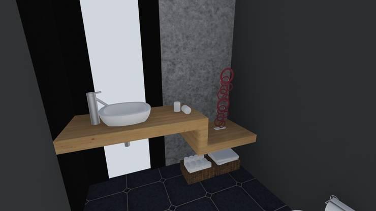 BAÑO : Baños de estilo  por De.sign