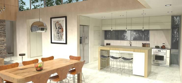 Cocina: Cocinas de estilo  por IMAGENES MR,
