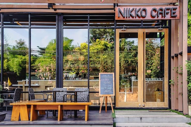 NIKKO CAFE:   by Stushio Design