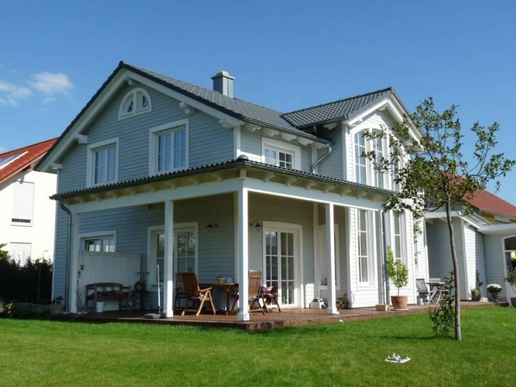 Holzhaus Im Amerikanischen Stil Haus Georgia Von Skan Hus Gmbh Homify