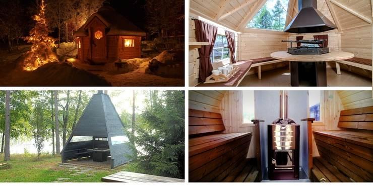 Finse Kota- een bijzonder tuinhuis-BBQ-hut-sauna-B&B:  Tuin door Scandivik Buitenleven