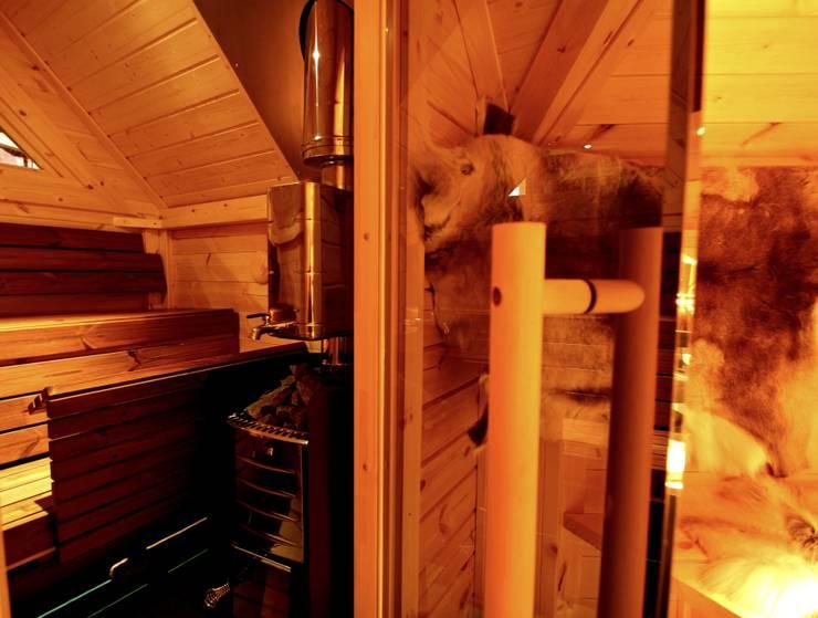 Finse Kota BBQ hut-Sauna-Bed&Breakfast:  Fitnessruimte door Scandivik Buitenleven