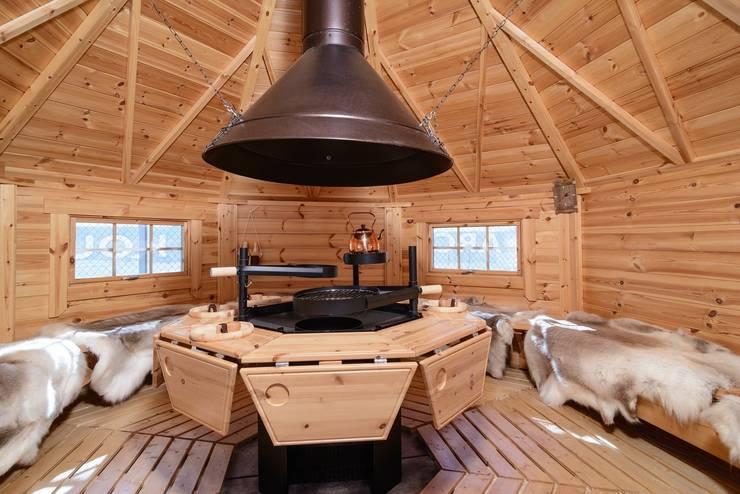 BBQ hut:  Tuin door Scandivik Buitenleven