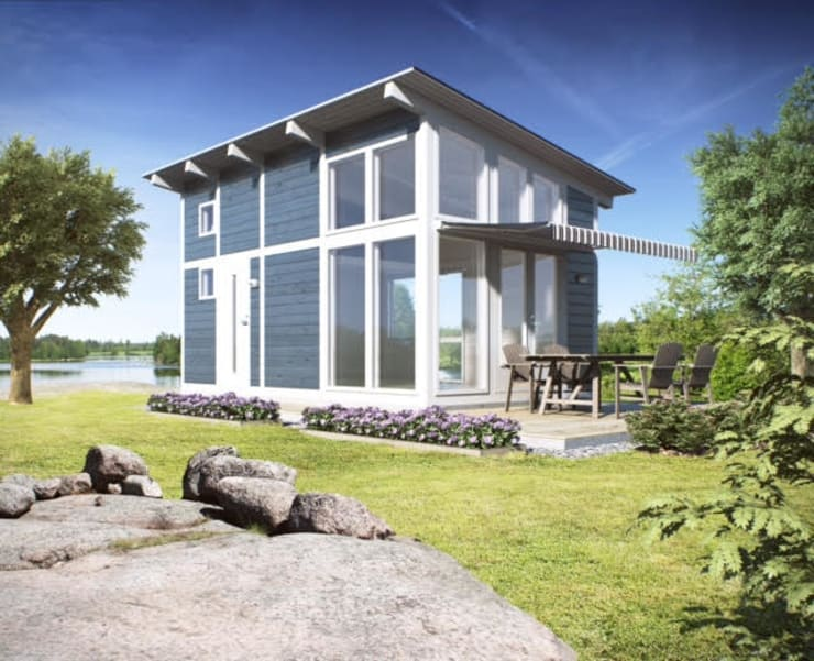 Vide In Huis : Tiny house design woning uit finland by scandivik buitenleven homify