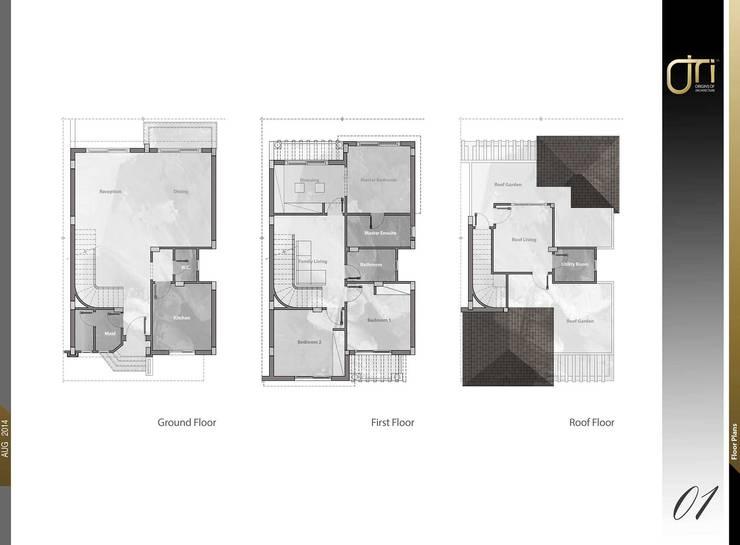 جدران تنفيذ Ori - Architects