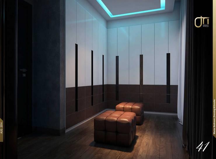 غرفة الملابس تنفيذ Ori - Architects