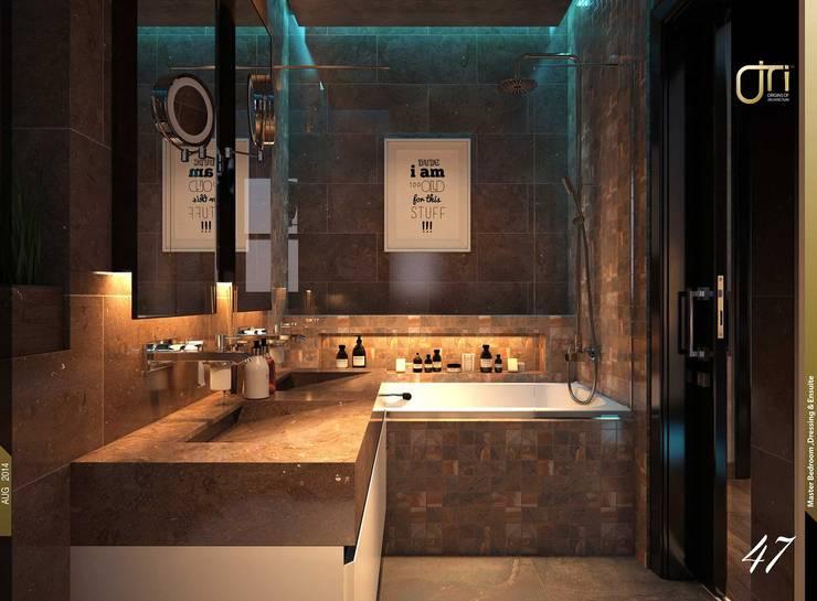 حمام تنفيذ Ori - Architects