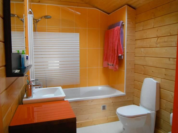 Baños de estilo  por Rusticasa