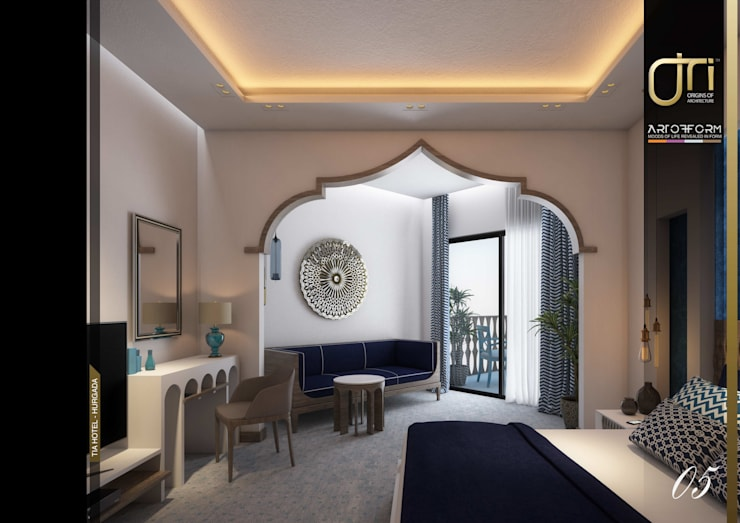 Hôtels de style  par Ori - Architects,