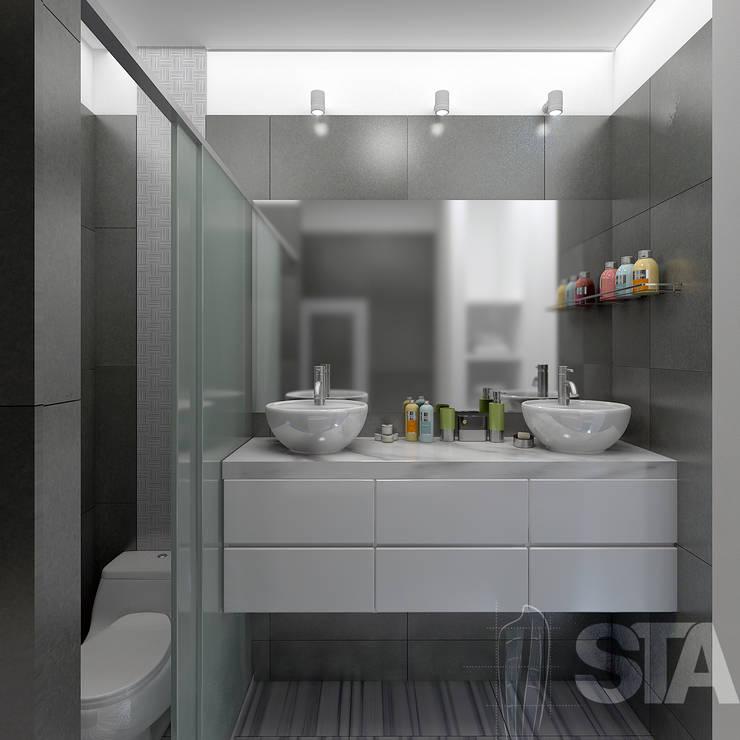 modern Bathroom by Soluciones Técnicas y de Arquitectura