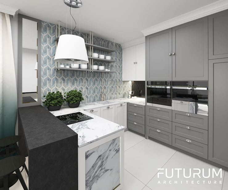 Kitchen by Futurum Architecture