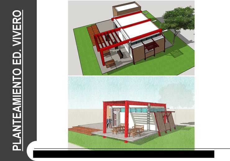 SENA LA GRANJA - CENTRO AGROPECUARIO : Salas de estilo  por Grupo GAAB SAS - Arquitectura & Diseño