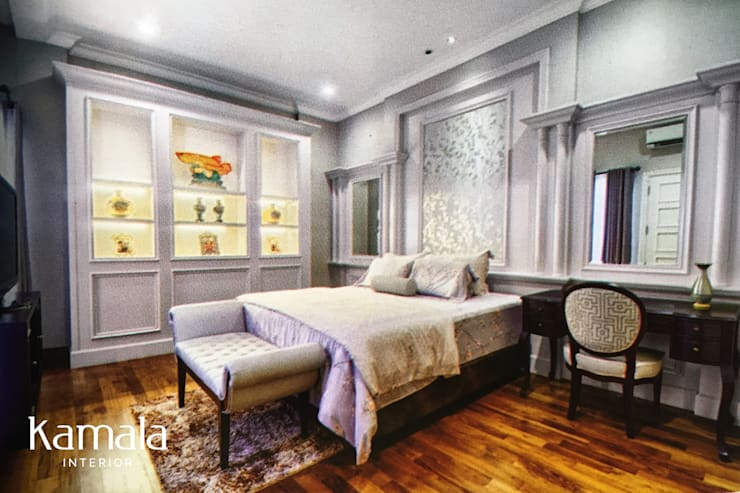 American Classic home:  Kamar Tidur by Kamala Interior