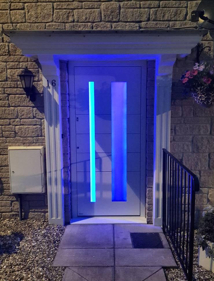 General Images:  Front doors by RK Door Systems,