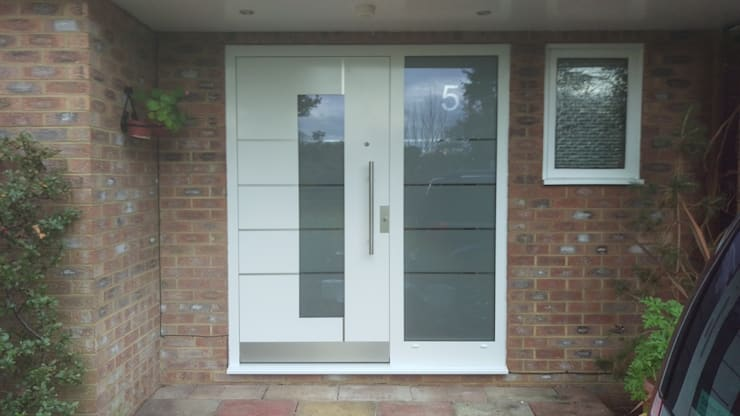 General Images:  Front doors by RK Door Systems