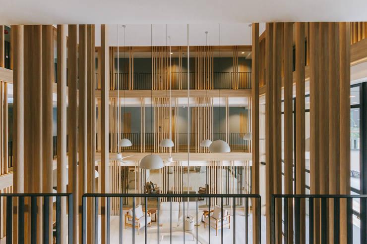 Mii Hotel Lobby :  โรงแรม by บริษัท เพอเซพชั่น สตูดิโอ จำกัด
