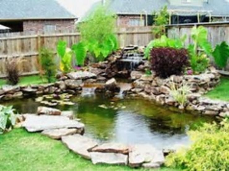 Koi pond project.:   by Landscaping Johannesburg