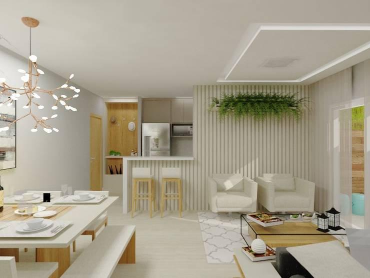 Sala de Estar Salas de estar modernas por Bruna Ferraresi Moderno