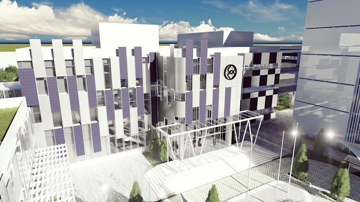 Palembang Energy & Mineral High School:   by Pr+ Architect