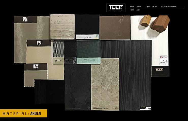 ที่พักอาศัย ทาวน์โฮม 3 ชั้น:   by Teek interior design