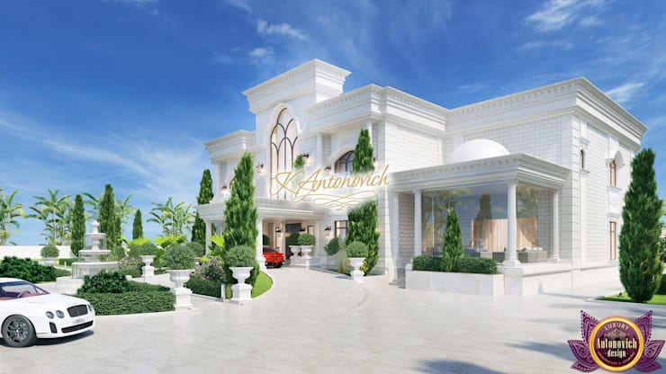 ​  Architectural projects of Katrina Antonovich:  Houses by Luxury Antonovich Design