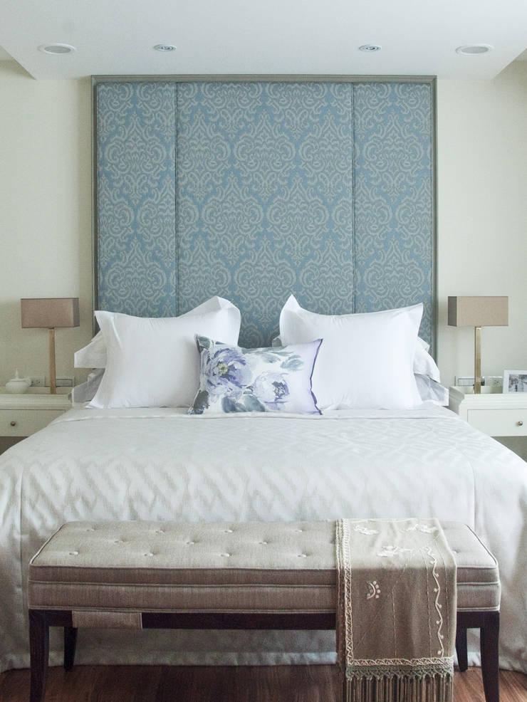 紐約家居 New York New York:  臥室 by 瑄境設計 Xuan Jing