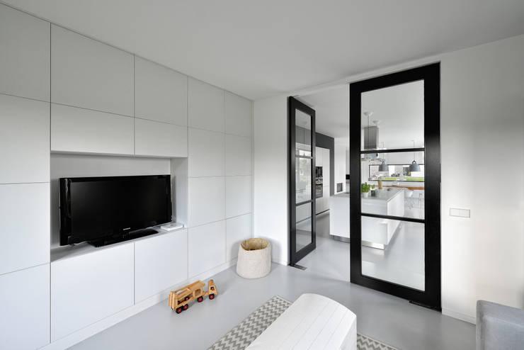 Медиа комнаты в . Автор – BNLA architecten