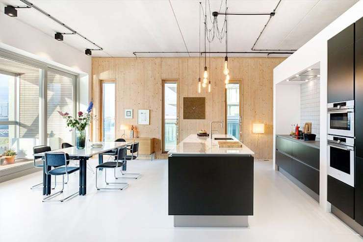 Kitchen by BNLA architecten
