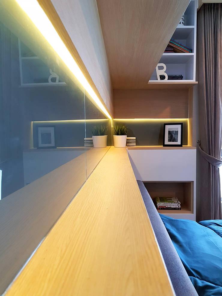 สไตล์มินิมอลโมเดิร์น:  ตกแต่งภายใน by Knock door interior design & decoration
