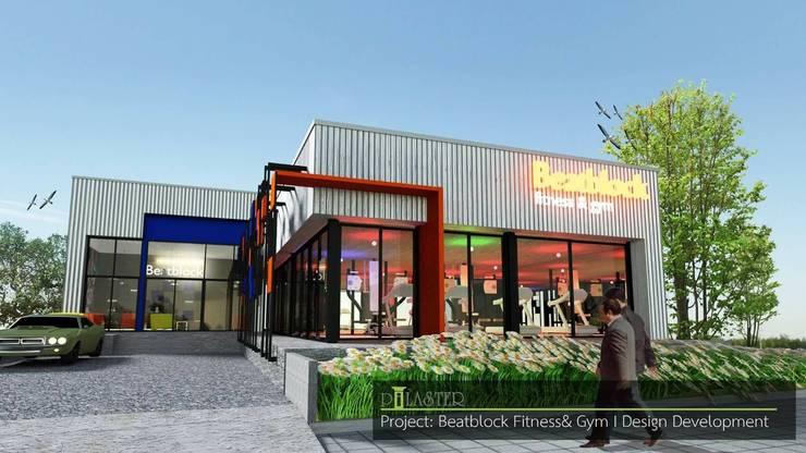 beat block fitness:   by Pilaster Studio Design