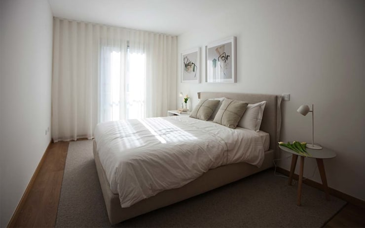 Bedroom by Tralhão Design Center