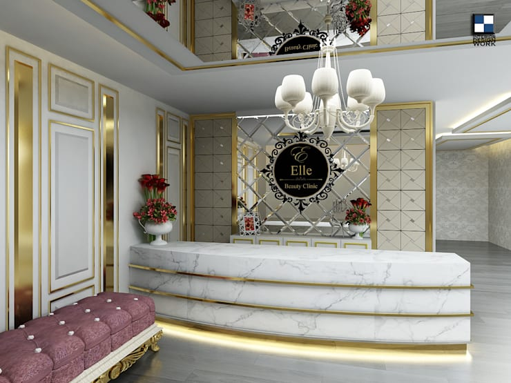 clinic beauty : Central Udontani:  ตกแต่งภายใน by interir design work