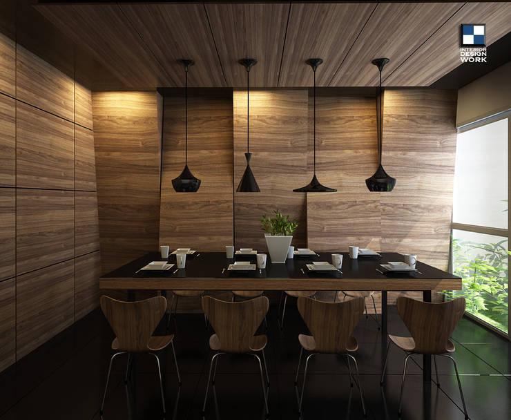 dining room:  ตกแต่งภายใน by interir design work