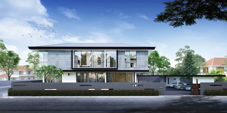 Our Architectures and Design:  บ้านสำหรับครอบครัว by Mastermind