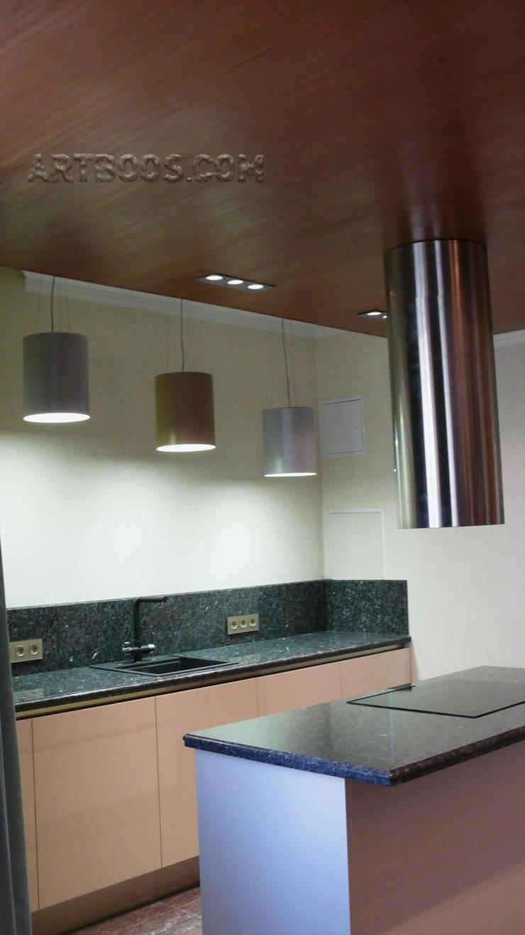 Квартира на Юго-западной: Кухни в . Автор – Творческая мастерская АRTBOOS