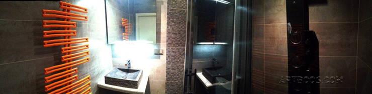 Квартира на Юго-западной: Ванные комнаты в . Автор – Творческая мастерская АRTBOOS