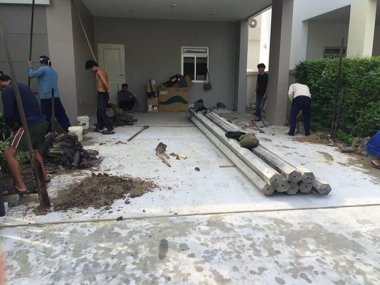 อัพเดทงานต่อเติม ส่วนพักอาศัย พื้นที่จอดรถ… โครงการ ไลฟ์ บางกอก บูเลอวาร์ด ( ราชพฤกษ์-รัตนาธิเบศ):   by CUBICLE INTERIOR DESIGN